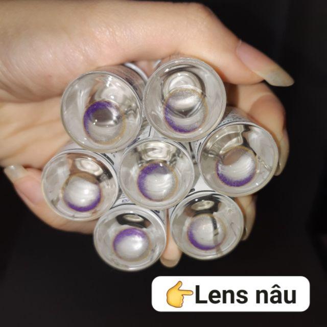(Sẵn – lens giới hạn) 9 mẫu lens Nâu phiên bản limited giới hạn siêu đẹp