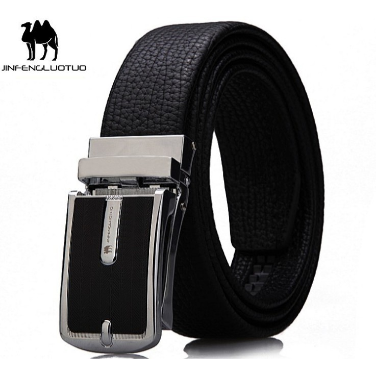 (NEW 2019 Men's Belt) Bảo Hành 1 Năm - Dây Nịt Thắt Lưng Da Bò Thật Cao Cấp AGZA025 - Hàng Nhập Khẩu - Nam Nữ