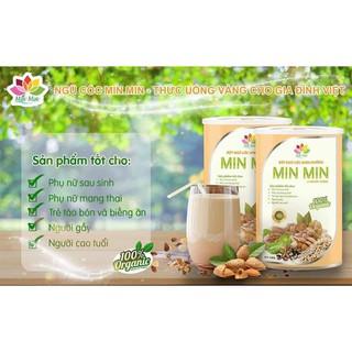 Ngũ Cốc MinMin 2Kg Siêu Lợi Sữa [ 4 hộp COMBO -30%]