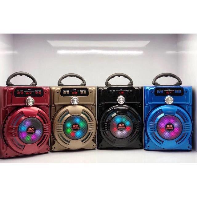Loa bluetooth hát karaoke ,trợ ng ,du lịch xách tay BL JHW-802 tặng kèm Micro – BẢO HÀNH 6 THÁNG 1 ĐỔI 1