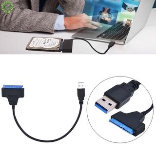 Dây Cáp Chuyển Đổi Đầu USB 3.0 Sang SATA 22 Chân SSD 2.5 Inch Cho Laptop