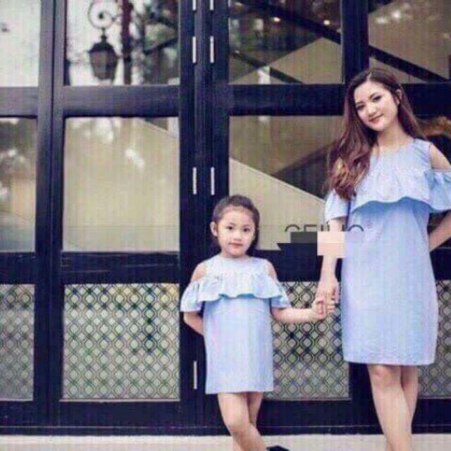 Sét váy mẹ và bé - 10077294 , 305196793 , 322_305196793 , 130000 , Set-vay-me-va-be-322_305196793 , shopee.vn , Sét váy mẹ và bé