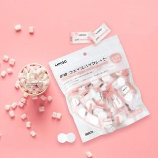 Mặt nạ giấy nén Miniso (1k/viên mua trên 10 viên)