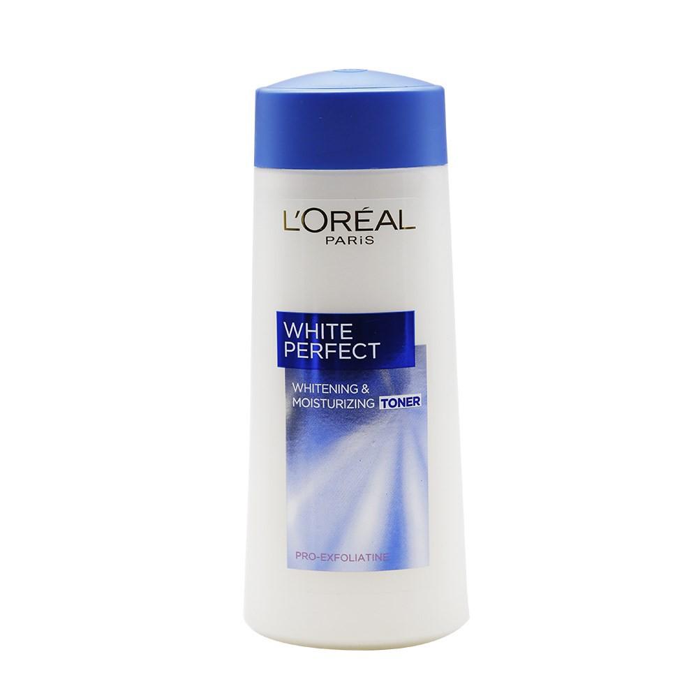 Bộ đôi sữa rửa mặt 100ml và nước hoa hồng 200ml giúp làm sạch trắng mịn da L'Oreal Paris White Perfect _ TUPLP00028CB