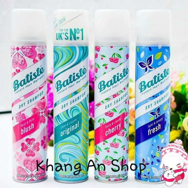 Dầu gội khô Batiste Dry Shampoo 50-