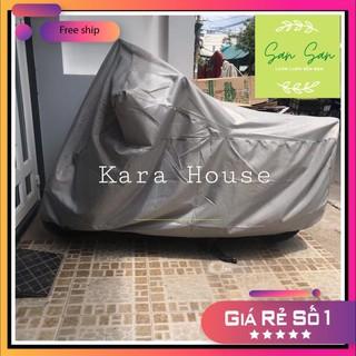 Bạt trùm xe máy Kara House 220cm x 115cm che vừa vặn tất cả các loại xe máy - Hàng VN chất lượng cao