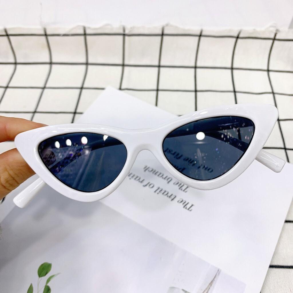 Kính cho bé trai bé gái - Kính râm Mắt Mèo mùa hè cho bé 1-6 tuổi chống tia UV...