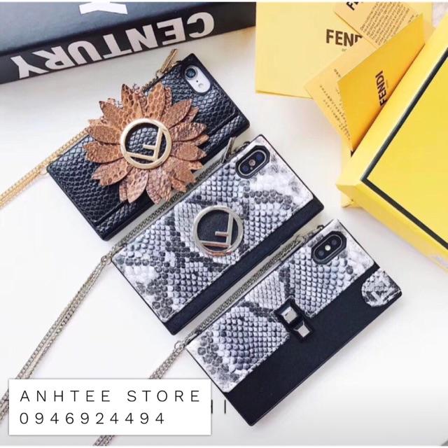 Ốp Fendi iPhone 6--8Plus; X