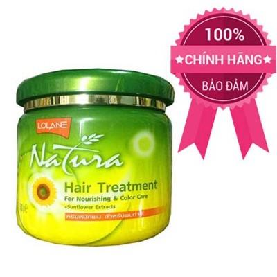 Kem ủ tóc giữ màu tóc nhuộm Lolane hướng dương 100ml