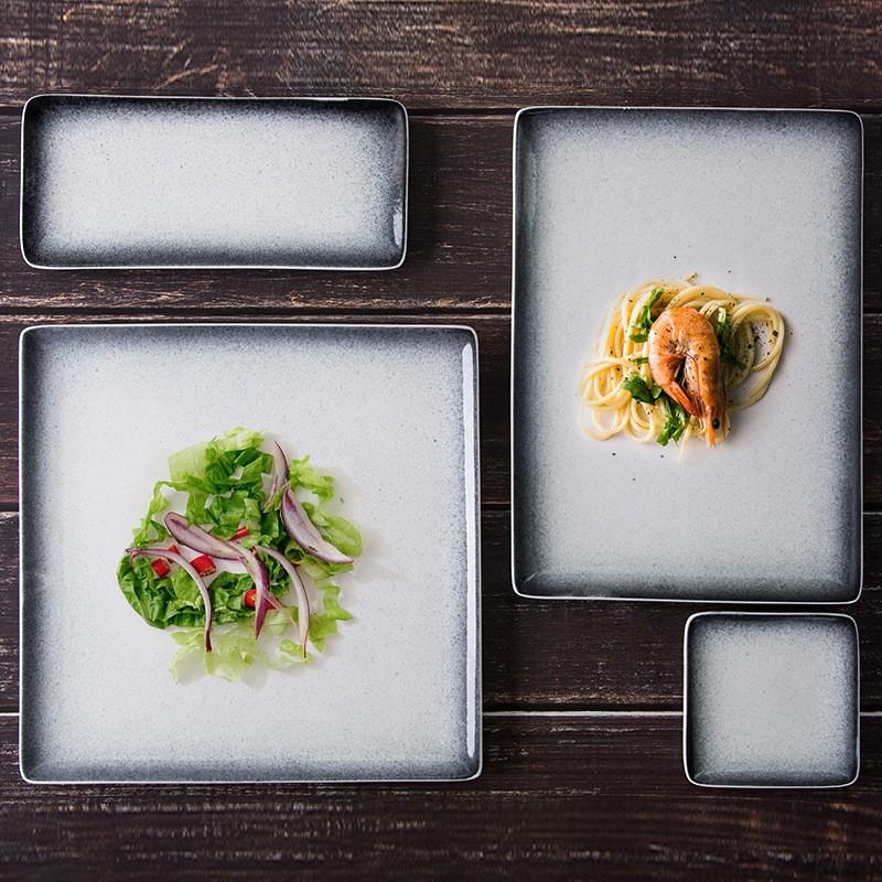 đĩa ăn phong cách nhật bản