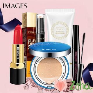 Set trang điểm IMAGES Son môi + Phấn nước + Kem BB + Bút tạo khối + Mascara ZH-46