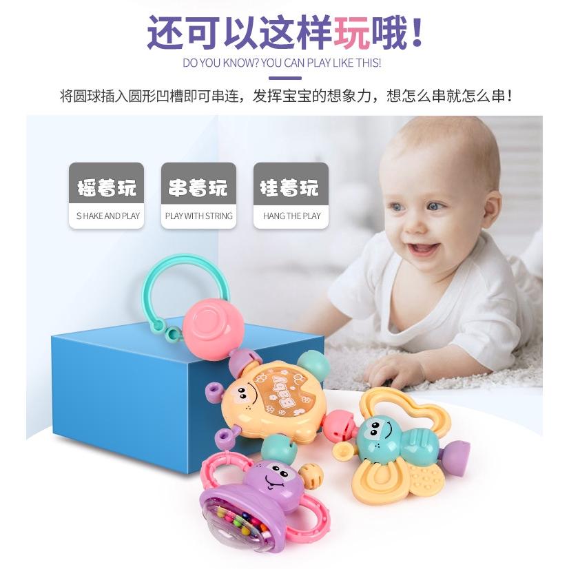 Bộ 7 Món Đồ Chơi Dành Cho Trẻ Em 0-1 Tuổi 3-6 - 12 Tháng Tuổi
