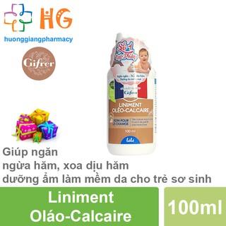 Kem bôi chống hăm Liniment Oláo-Calcaire - Giúp ngăn ngừa hăm, xoa dịu hăm dưỡng ẩm làm mềm da cho trẻ sơ sinh (Lọ 100ml thumbnail