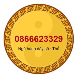 SIM PHONG THỦY HỢP MỆNH KIM 0866623329