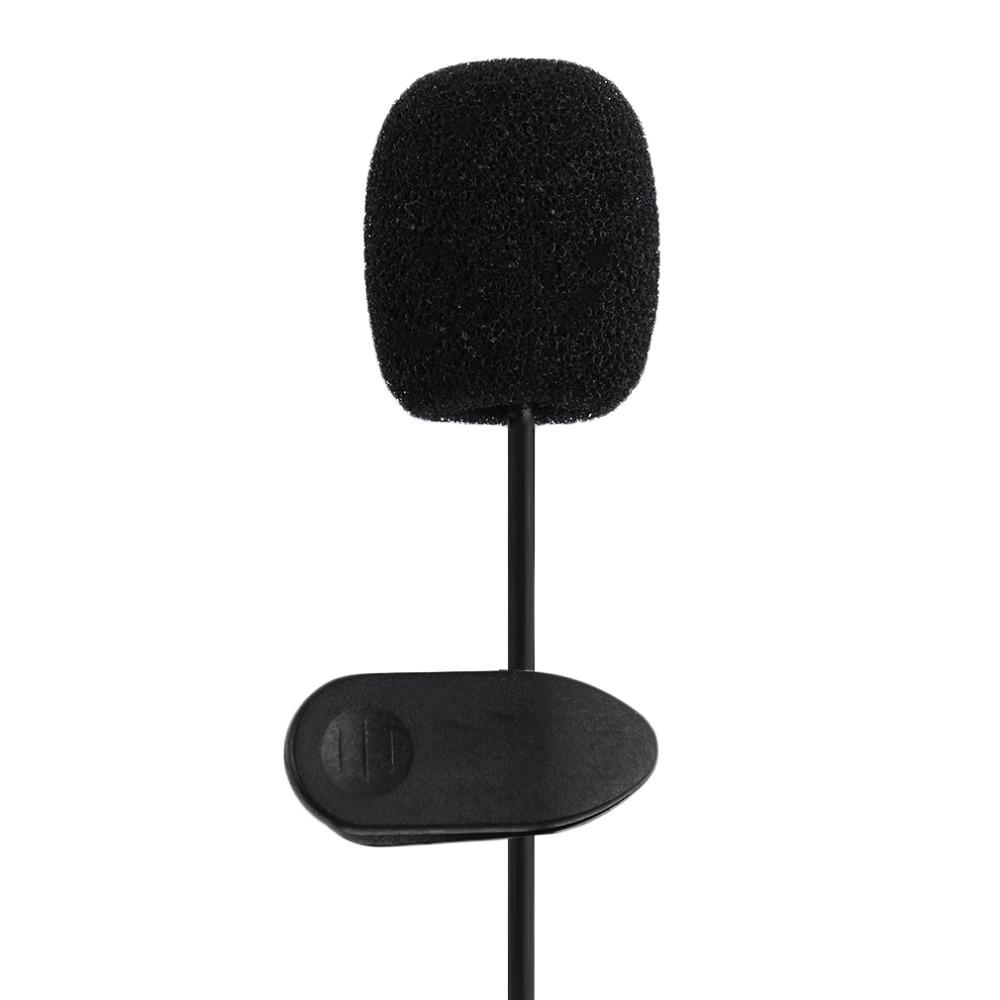 Micro Mini Kẹp Áo Jack 3.5mm Dài 1.5m
