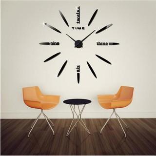 Đồng hồ dán tường DIY Minimalism (70-120)cm cao cấp