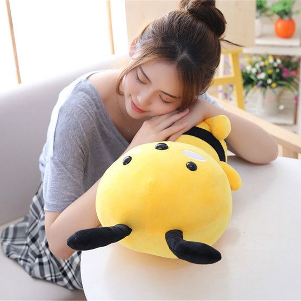 【COD】Soft Little Bee Animal Doll Stuffed Plush Toy Home Party Wedding Kid Gift