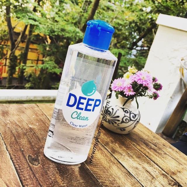 Nước Tẩy Trang Deep Clean Clear Water