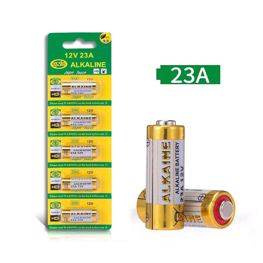 Bộ 5 pin 23A 12V cho chuông cửa, bút trình chiếu,công tắc điều khiển từ xa RF...