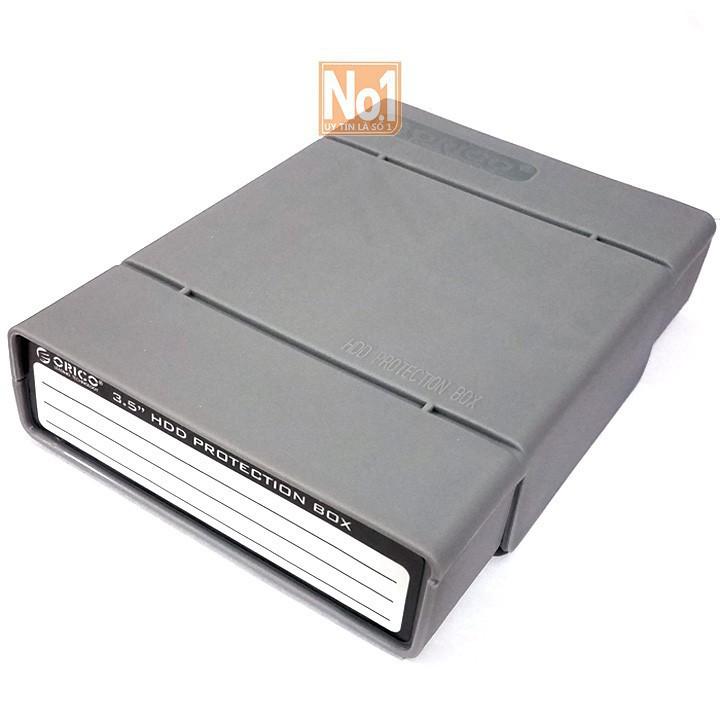 [ Hàng Hot]  Hộp đựng Orico bảo vệ ổ cứng HDD 3.5 inch màu xám - RẺ NHẤT VN