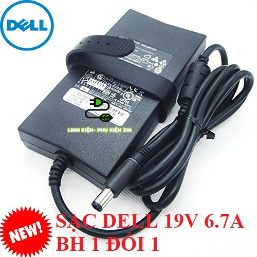 [FREE SHIP] Sạc laptop Dell 19.5V-6.7A (Slim) 130W Adapter Dell Giá chỉ 370.000₫