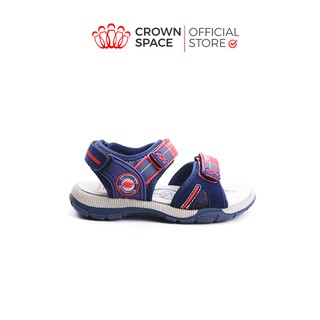 Dép Quai Hậu Bé Trai Đi Học Crown Space Cao Cấp CRUK528 Size 26-35 cho bé 2-14 Tuổi thumbnail