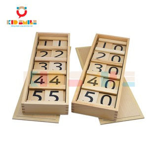 Đồ Chơi Gỗ Bảng Hàng Chục Montessori (Ten Board And Teen Board)