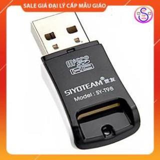 FREESHIP 50K Đầu Đọc Thẻ Nhớ Micro SD Siyoteam Sy-T98