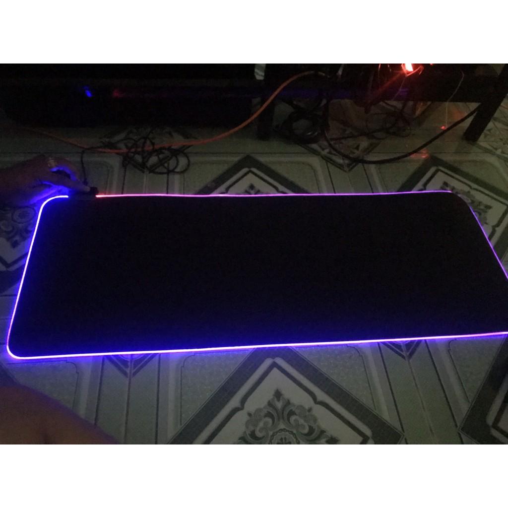 [Nhập ELCLMAY hoàn 30K xu đơn từ 200K]Mousepad (bàn di chuột) rgb 7 màu siêu mịn,siêu rẽ , siêu bền Cao Cấp Giá chỉ 180.000₫