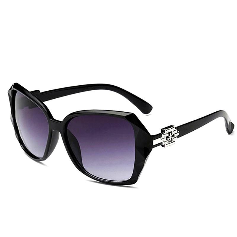 2020 New Ladies Sunglasses Korean Version Anti-Uv Sunglasses Retro Long Face Round Face Driver Driving Glasses