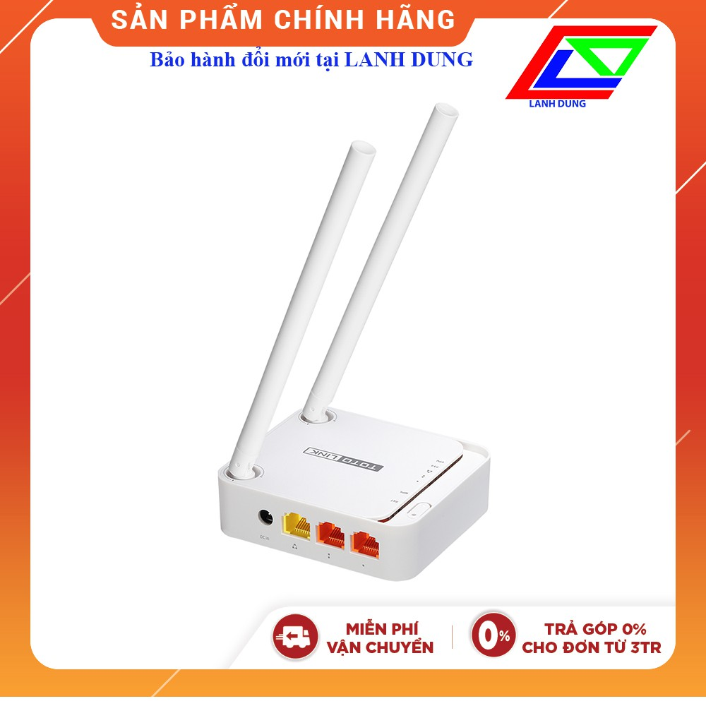 Bộ phát sóng wifi Totolink N200re (bh đổi mới tại Lanh Dung)