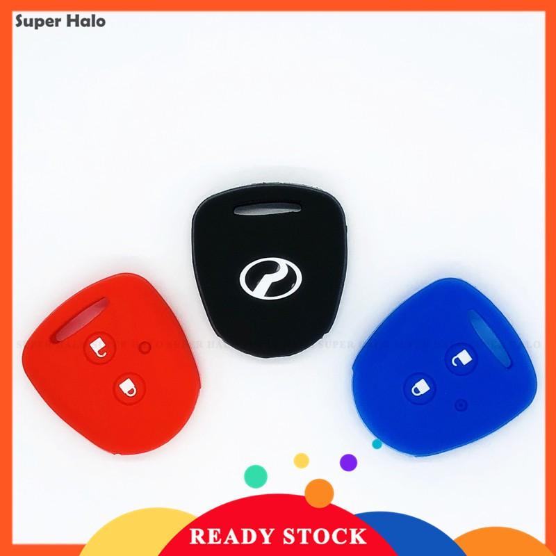 Bao Silicone Bảo Vệ Chìa Khóa Perodua Axia Remote Car Key