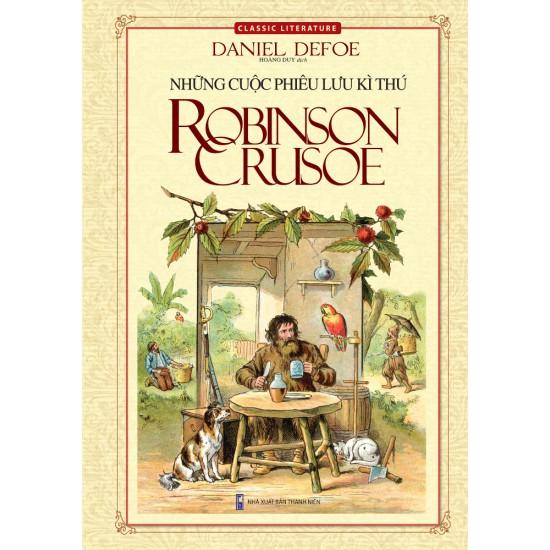Cuốn sách Những Cuộc Phiêu Lưu Kì Thú Robinson - Tác giả: Daniel Defoe