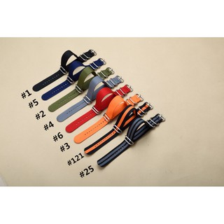 Dây đeo nylon dành cho đồng hồ ZULU NATO 20MM 22MM 24MM G10