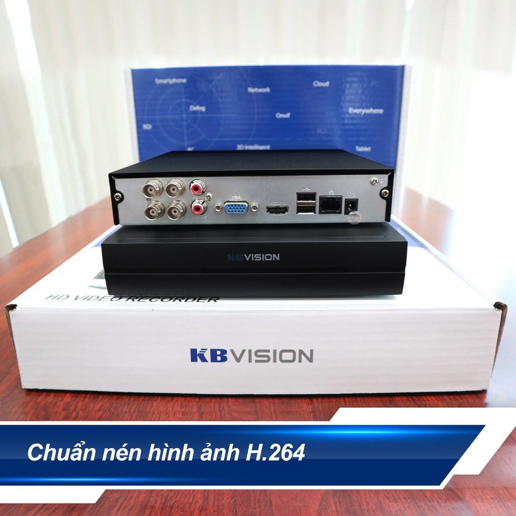 KX-A7104SD6 Đầu ghi hình 4 kênh 5 in 1 KBVISION