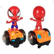 Người nhện,spai man có đèn nhạc biết đi