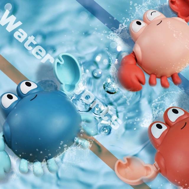 Đồ chơi CUA chạy cót  bơi lội dưới nước cho bé