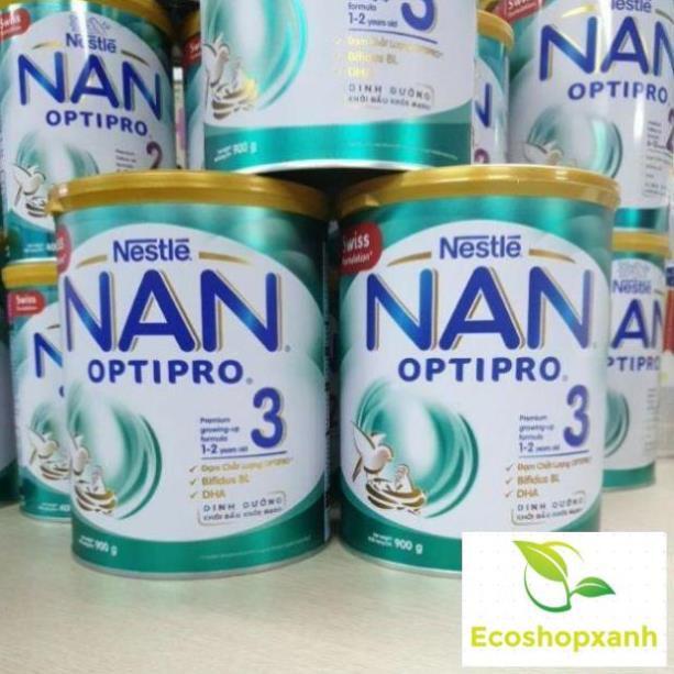 Combo 3 lon Sữa Bột Nestlé NAN Optipro Số 3 - Hộp 900g