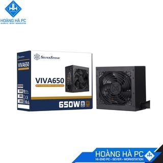 NGUỒN SILVERSTONE VIVA 650W 80 PLUS BRONZE, hàng chính hãng, giá tốt thumbnail