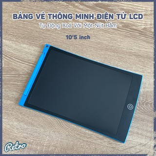 Bảng Vẻ Thông Minh Điện Tử LCD 10'5 inch – Tự Động Xoá Với Một Nút Bấm