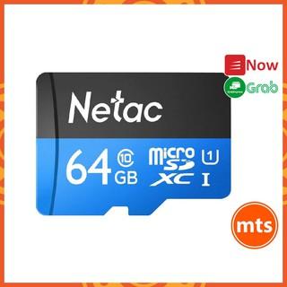 Thẻ nhớ Micro SD Netac chuẩn Class10 UHS-I U1 64GB Cao cấp tốc độ cao Chính hãng - Minh Tín Shop