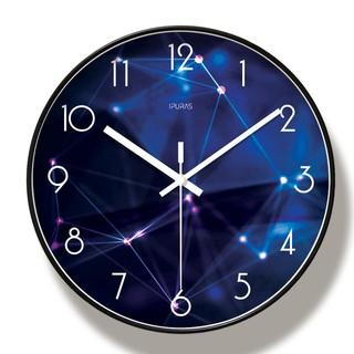 (HÀNG LOẠI I) Đồng hồ treo tường kim trôi THIÊN VĂN - Loại 30cm - Tặng kèm pin và móc treo