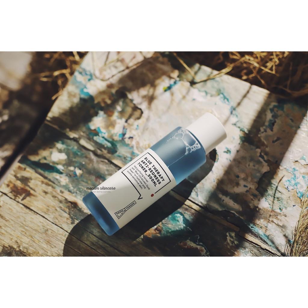 Toner cho da nhạy cảm, yếu Normal No More Blue Therapy Anti - Redness 300ml