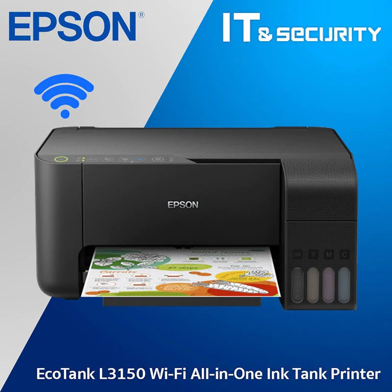 Epson L3150 EcoTank All-in-One/Wifi Ink Tank Printer