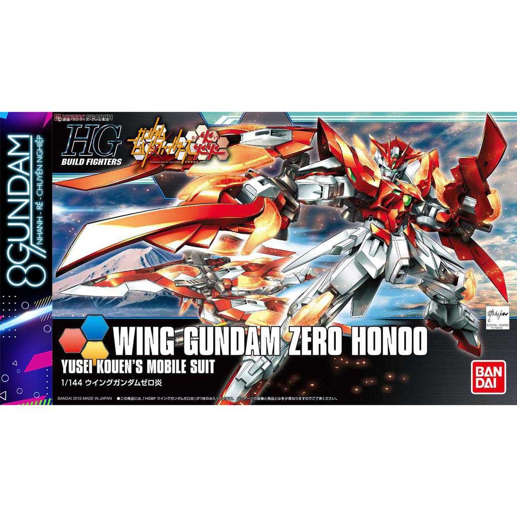 Mô Hình Lắp Ráp HG BF Wing Gundam Zero Honoo