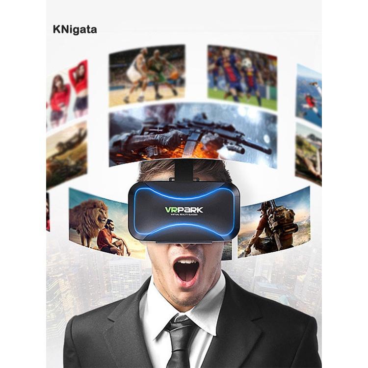 KNigata Durable Smart VR Glasses Head-mounted VR Glasses Intelligent for Kids Adults