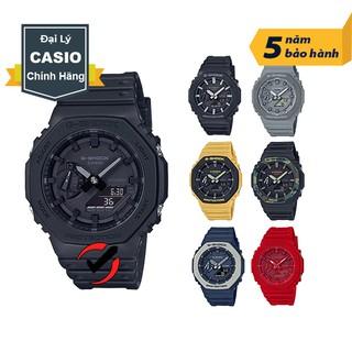 Đồng hồ nam dây nhựa Casio G-Shock chính hãng Anh khuê GA-2100 và GA-2110