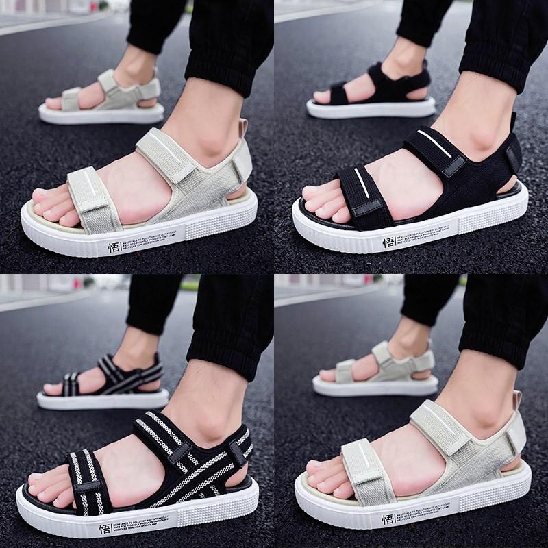 Dép nam 2019 giày đi biển mới Dép nam mùa hè Dép nam thời trang nam mang dép nam triều nam