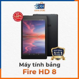 Máy tính bảng Fire HD 8 (bản mới nhất của Amazon năm 2020) Đen/Trắng/Xanh/Mận - Hãng sẵn Sài Gòn