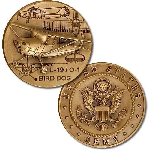 L-19 / O-1 Bird Dog Challenge Coin